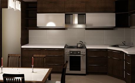 Оптимальная высота столешницы на кухне от кухонного гарнитура до пола