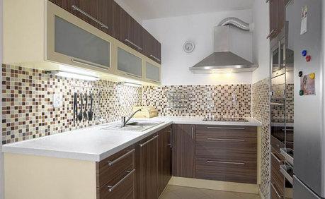 Плитка-мозаика для кухни на фартук 36 фото выбираем мелкую и крупную мозаичную керамическую плитку для фартука