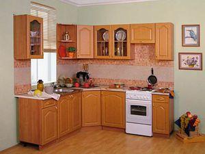 Недорогой вариант кухонной мебели