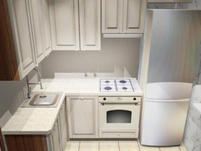 маленькая кухня 6 кв.м дизайн фото