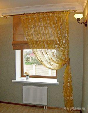 Как красиво сшить шторы для комнаты фото 898
