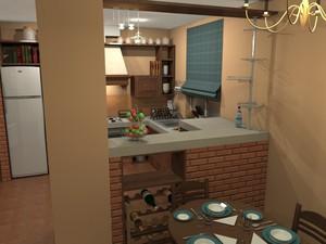 Перегородки между кухней и гостиной для решения задач в интерьере