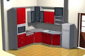 кухни угловые для маленьких квартир фото