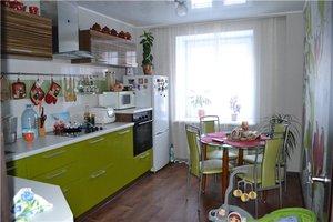 Квартира с кухней оливковой