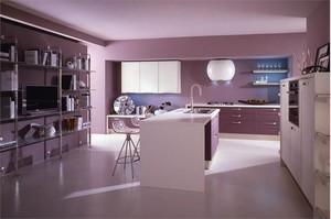 Кухня одноцветная
