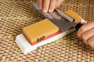 Как точить нож бруском