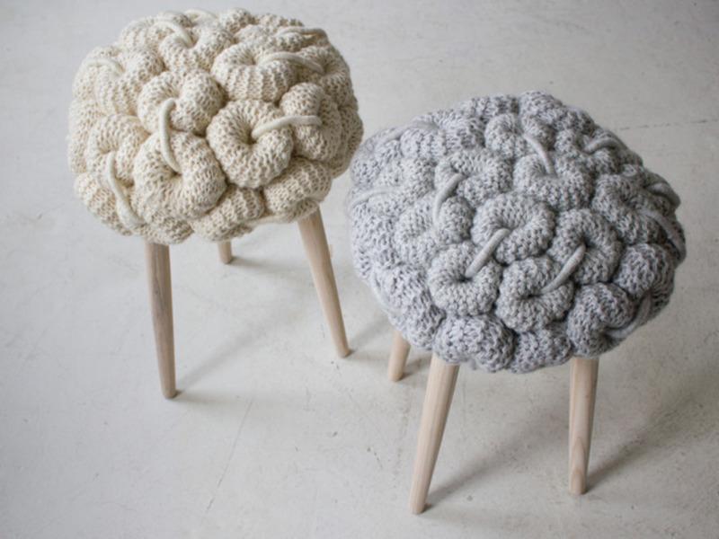 Шапочки для стульев своими руками 31