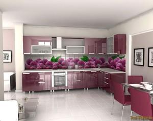 фото фартук на кухню из плитки фото