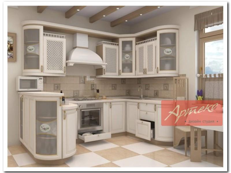 Кухни в классическом стиле - фото дизайна интерьера
