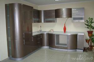 угловые кухни фото модерн