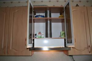 Как сделать вытяжку на кухне в квартире