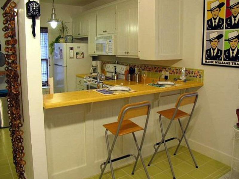 Барная стойка для кухни своими руками из дерева