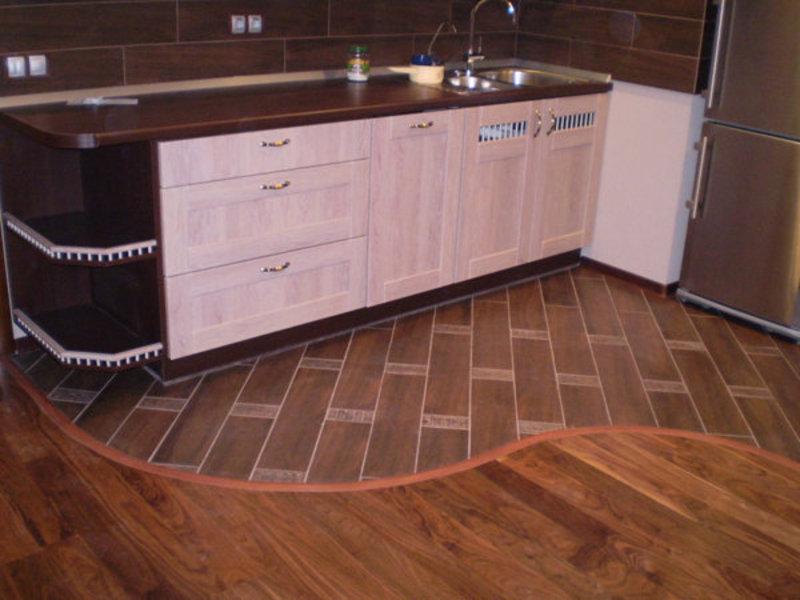 Как лучше сделать пол на кухне 459