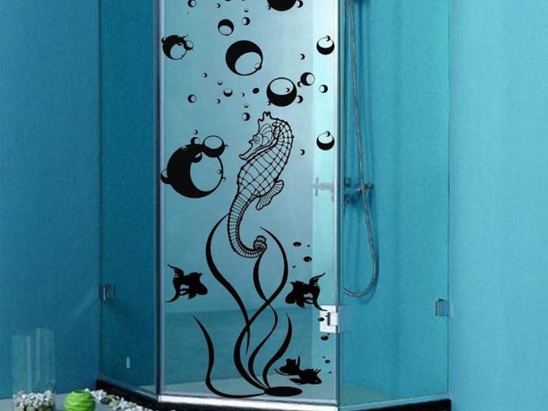 Как украсить дверь в ванную
