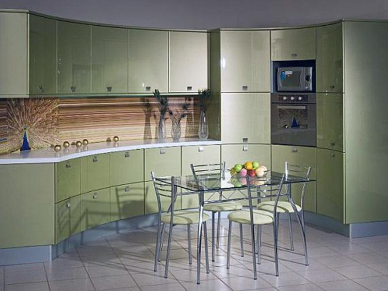 Интерьеры кухонь кофейного цвета