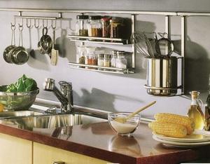 Как расположить рейлинги на кухне - установка 35
