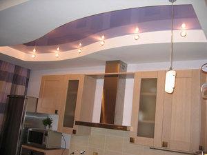 потолки для кухни из гипсокартона