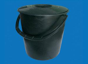 Пластиковое мусорное ведро с крышкой - классика, которая известна всем