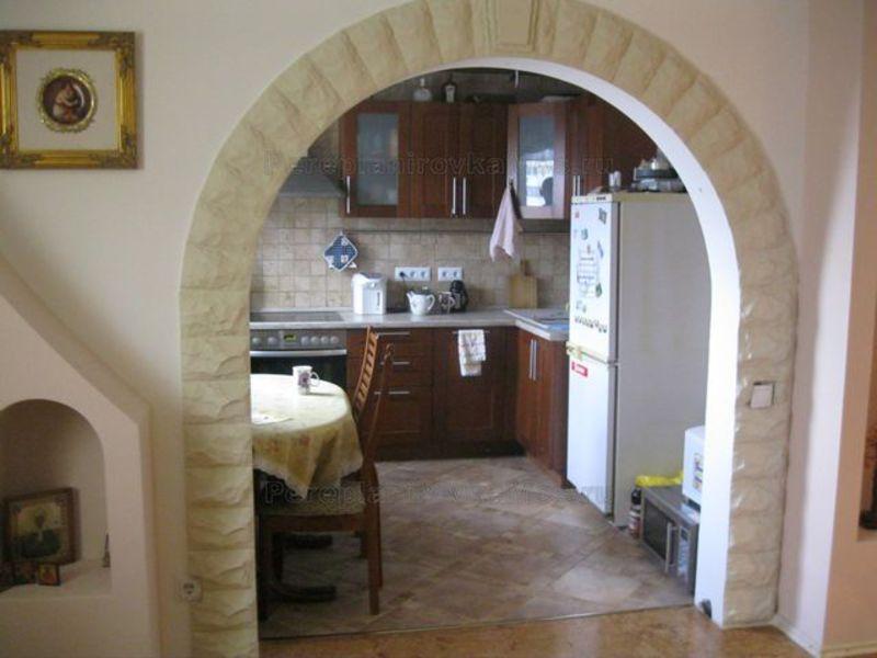 Арка в кухню