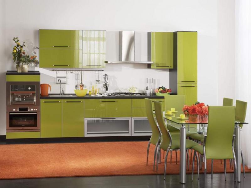 Дизайн для кухни оливки