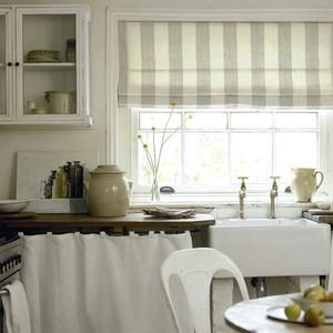 римские шторы фото в интерьере кухни фото